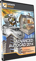 Advanced AutoCAD 2014 Training DVD
