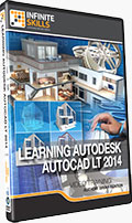 Learning AutoCAD LT 2014 Training DVD