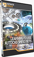 Learning to use AutoCAD Sheet Sets Training DVD