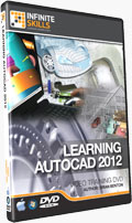 Learning AutoCAD 2012 Training DVD