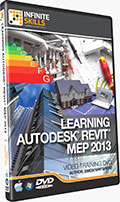 Learning Revit MEP 2013 Training DVD