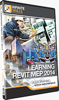 Learning Revit MEP 2014 Training DVD