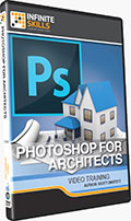 Photoshop for Architects Training DVD