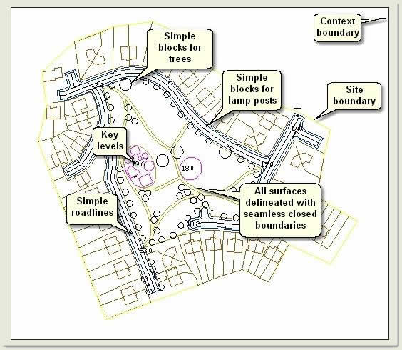 Quickscape Tutorial | Stage 1: AutoCAD Drawing | CADTutor
